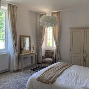 l'orangerie côté parc - Château de Quincey